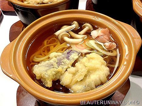 chiso zanmai japanese nabeudon tempura fresh fish sushi sashimi buffet singapore japanese food