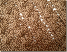 2012 Cynthis Brown cowl detail