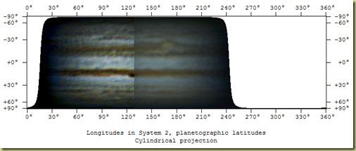 15 October 2011 Jupiter Map