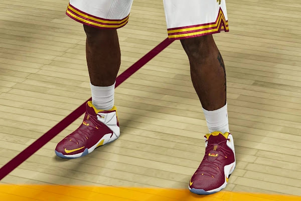 LeBron 12 Available Now in NBA 2K15 with Edit Mode Enabled