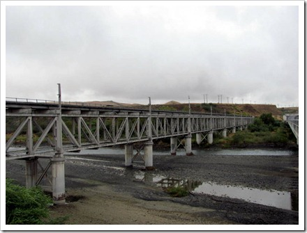 Dashwood road/rail bridge now used only by rail.