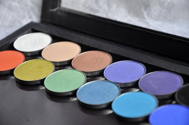 Makeup Geek Eyeshadow Review Z-Palette