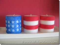 flag candles red 1
