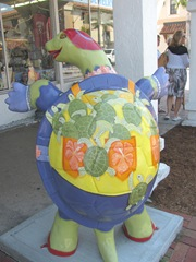 Florida Venice decorated turtle back1