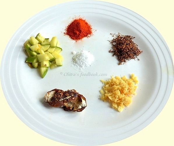 Ugadi pachadi ingredients