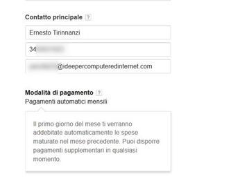 google-apps-modalità-pagamento