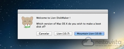 Bienvenida a Lion DiskMaker