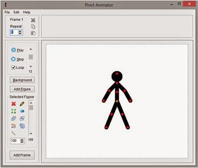 Membuat Animasi Sederhana Mengunakan Aplikasi Pivot Animator 01