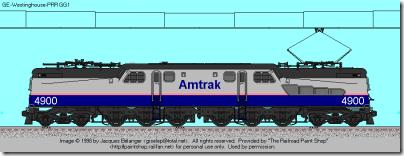Amtrak PhIV gg1