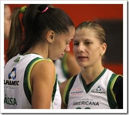Tássia Carcavalli e Karla Costa