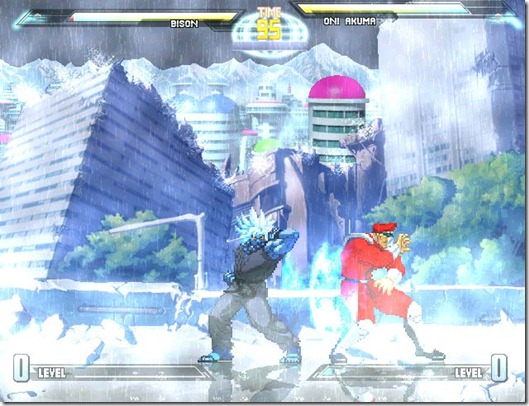 Dragonball vs Street Fighter 3 fan game pic4