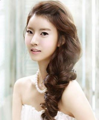 Korean Bridal Hairstyle