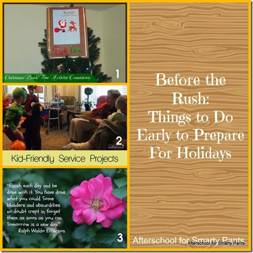 Things to do in mid November to prepare for the holidays