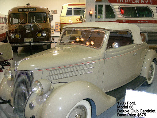 1936 Ford, Model 68