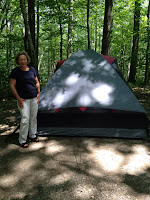 Lori and her Big Tent Photo