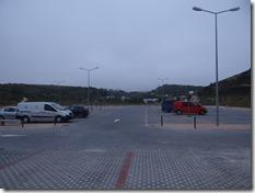 Le parking, super-classe comparé à ceux de Guincho entre autre...