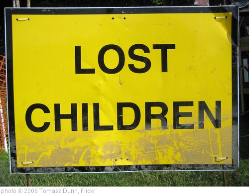 'Lost Children?' photo (c) 2008, Tomasz Dunn - license: http://creativecommons.org/licenses/by/2.0/
