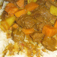 Beef & Sweet Potato Curry