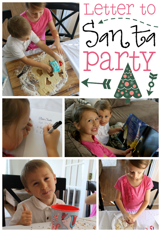 Letter to Santa Party at GingerSnapCrafts.com #NorthpoleFun #CollectiveBias #ad