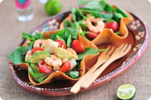 Mexican Seafood Salad