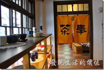 台南-林百貨重新開幕。台南林百貨二樓【奉茶】。