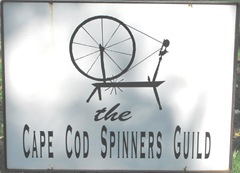 Cape Cod Columbus weekend 2012..apple festival spinners guild sign