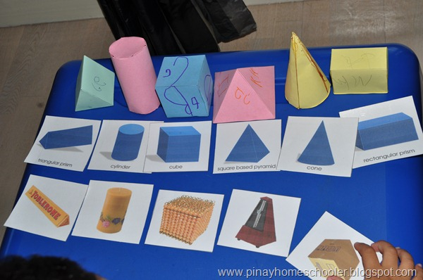 Paper 3-D Models and Cards (Photo from The Pinay Homeschooler)