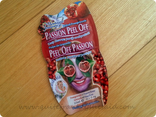 Montagne Jeunesse Passion Peel Off Face Mask