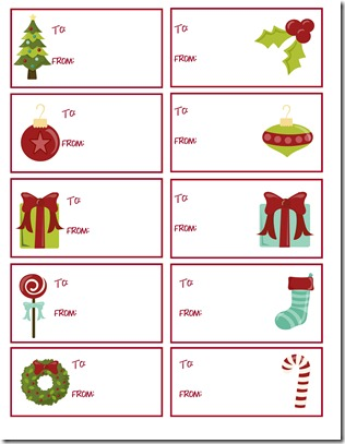 Gift Labels 1