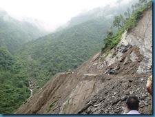 Birahi Landslide august 2012