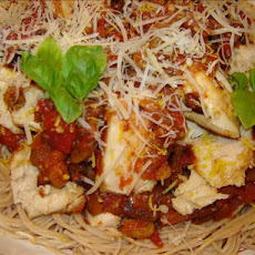 Sicilian Lemon Chicken With Raisin-Tomato Sauce