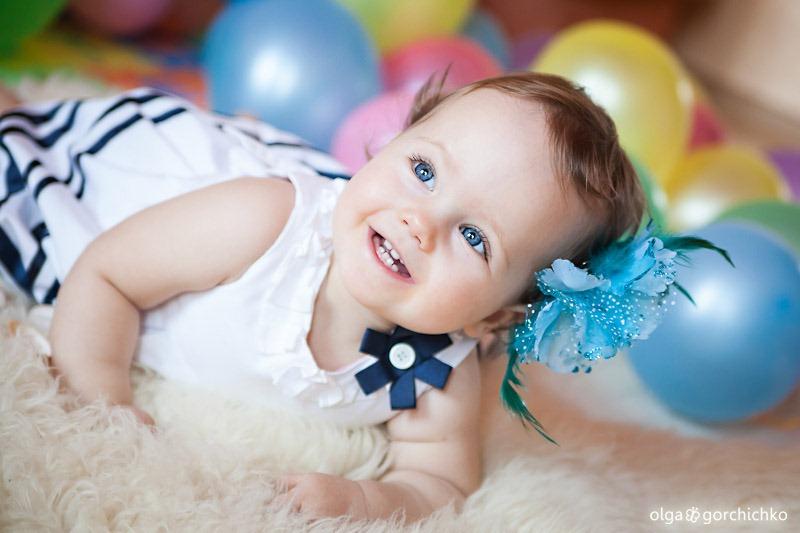Первый день рождения Софии. Детский фотограф, Гродно
