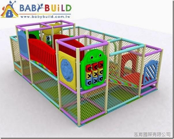 BabyBuild 室內兒童遊樂設施3D泡管設計規劃