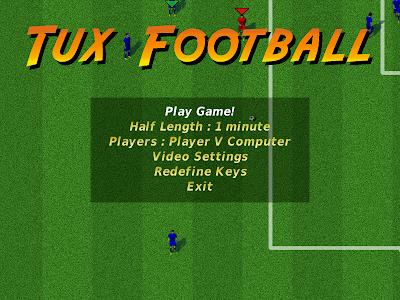 Tux Football