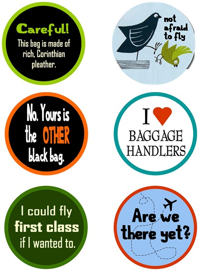 Front of Luggage Tags