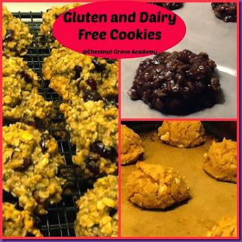 Gluten cookies
