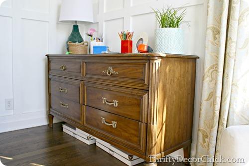 paiting a dresser