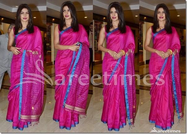 Priyanka_Chopra_Pink_Silk_Saree(1)