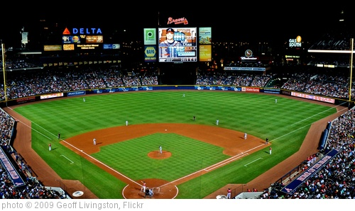'Turner Field: Home of the Atlanta Braves' photo (c) 2009, Geoff Livingston - license: http://creativecommons.org/licenses/by-sa/2.0/