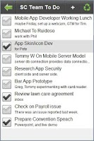 Screenshot of FamList: Live Lists Everywhere