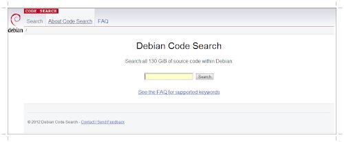 Debian Code Search