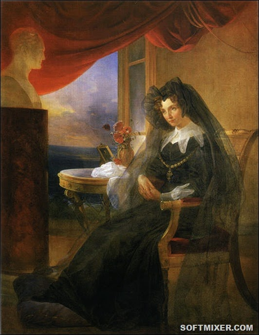 Elizabeth_Alexeevna_in_mourning_by_P.Basin_(1831)