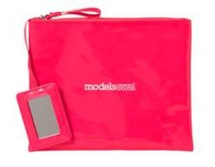 models own makeup bag