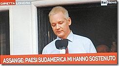Julian Assange grato aos pases da America Latina