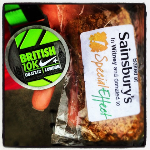 #190 - Flapjack for Special Effect at the British 10k