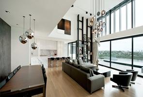 decoracion-lamparas-esferas-vidrio-soplado