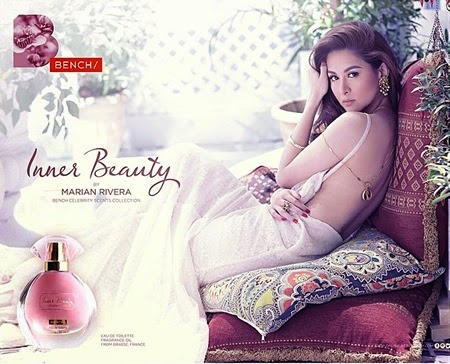 Marian Rivera for Bench Scents Collection
