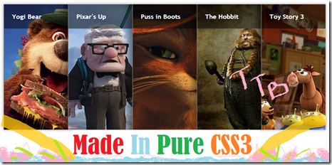 Featured Posts Slider CSS3