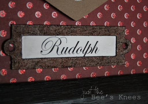 Rudolph ~ Just The Bee's Knees