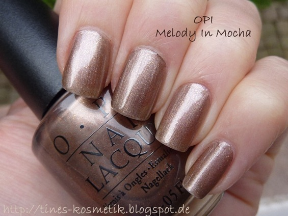 OPI Melody In Mocha 1